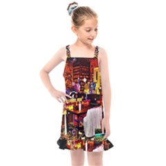 Painted House Kids  Overall Dress