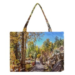 Landscape # 2 The Path Medium Tote Bag