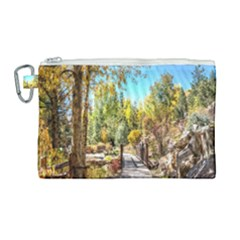 Landscape # 2 The Path Canvas Cosmetic Bag (large)