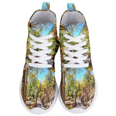 Landscape # 2 The Path Women s Lightweight High Top Sneakers by ArtworkByPatrick