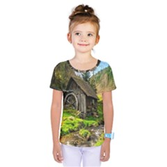 Landscape # 3 The Shed Kids  One Piece Tee