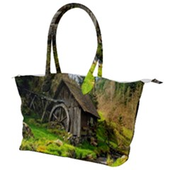 Landscape # 3 The Shed Canvas Shoulder Bag