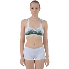 Daisy White Flower Field And Light Blue Sky Perfect Fit Gym Set