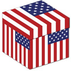 Us Flag Stars And Stripes Maga Storage Stool 12