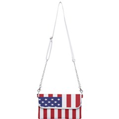 Us Flag Stars And Stripes Maga Mini Crossbody Handbag by MAGA
