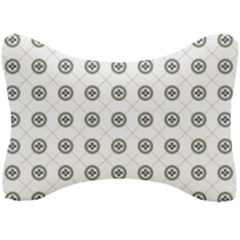 Logo Kekistan Pattern Elegant With Lines On White Background Seat Head Rest Cushion by snek