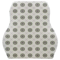 Logo Kekistan Pattern Elegant With Lines On White Background Car Seat Velour Cushion