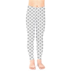 Logo Kek Pattern Black And White Kekistan White Background Kids  Legging by snek