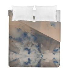 Deep Time Clouds Duvet Cover Double Side (full/ Double Size) by LoolyElzayat
