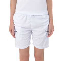 Jester Black And White Women s Basketball Shorts