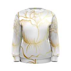Golden Rose Stakes Women s Sweatshirt