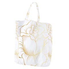 Golden Rose Stakes Giant Grocery Tote