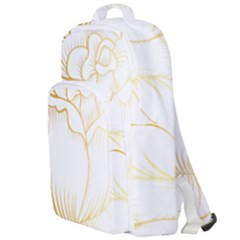 Golden Rose Stakes Double Compartment Backpack