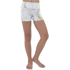 Golden Rose Stakes Kids  Lightweight Velour Yoga Shorts