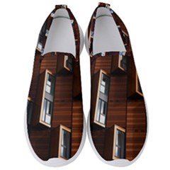 Abstract Architecture Building Business Men s Slip On Sneakers