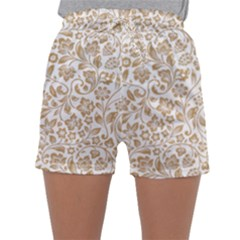 Vector Classical Pattern Sleepwear Shorts