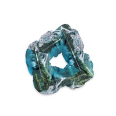 Daylight Forest Glossy Lake Velvet Scrunchie