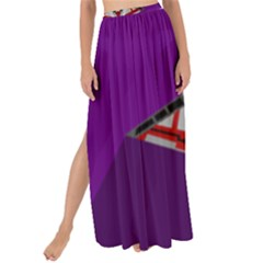 Toy Plane Outer Space Launching Maxi Chiffon Tie Up Sarong by Samandel