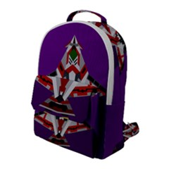 Toy Plane Outer Space Launching Flap Pocket Backpack (large)