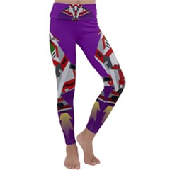 Toy Plane Outer Space Launching Kids  Lightweight Velour Classic Yoga Leggings