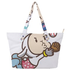 Music Fruit Baseball Ball Full Print Shoulder Bag