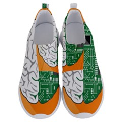 Technology Brain Digital Creative No Lace Lightweight Shoes by Samandel