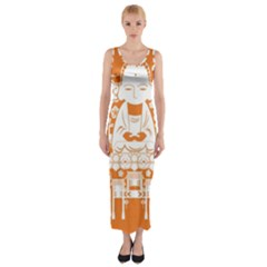 Taiwan Changhua Wikiproject Fitted Maxi Dress