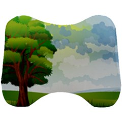 Landscape Nature Natural Sky Head Support Cushion