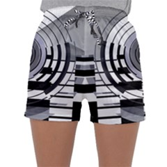 Glass Illustration Technology Sleepwear Shorts