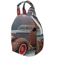 Auto Old Car Automotive Retro Travel Backpacks
