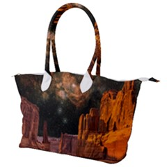 Geology Sand Stone Canyon Canvas Shoulder Bag