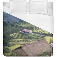 Rock Scenery The H Mong People Home Duvet Cover (king Size)