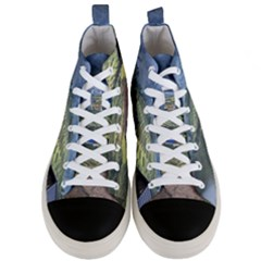 Rock Scenery The H Mong People Home Men s Mid Top Canvas Sneakers