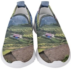Rock Scenery The H Mong People Home Kids  Slip On Sneakers