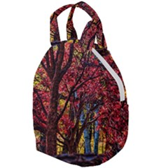 Autumn Colorful Nature Trees Travel Backpacks