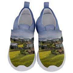 Vietnam Terraces Rice Silk Velcro Strap Shoes