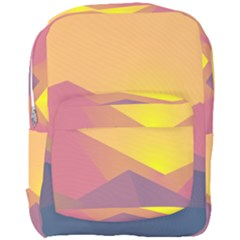 Image Sunset Landscape Graphics Full Print Backpack