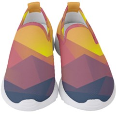Image Sunset Landscape Graphics Kids  Slip On Sneakers