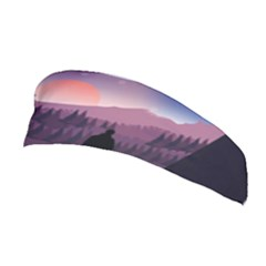 Dusk Sunset Dawn Sky Evening Stretchable Headband