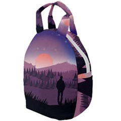 Dusk Sunset Dawn Sky Evening Travel Backpacks