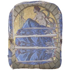 Mosaic Painting Glass Decoration Full Print Backpack