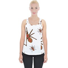 Nature Insect Natural Wildlife Piece Up Tank Top