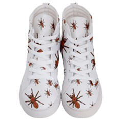 Nature Insect Natural Wildlife Women s Hi Top Skate Sneakers