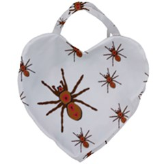 Nature Insect Natural Wildlife Giant Heart Shaped Tote by Samandel