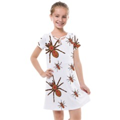 Nature Insect Natural Wildlife Kids  Cross Web Dress