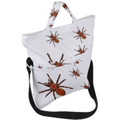Nature Insect Natural Wildlife Fold Over Handle Tote Bag by Samandel