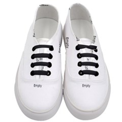 Ball Shaped Circle Close Up Dark Women s Classic Low Top Sneakers