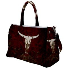 Awesome Cow Skeleton Duffel Travel Bag