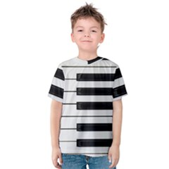 Keybord Piano Kids  Cotton Tee