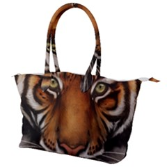 The Tiger Face Canvas Shoulder Bag